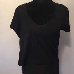New Black Wild Fable top